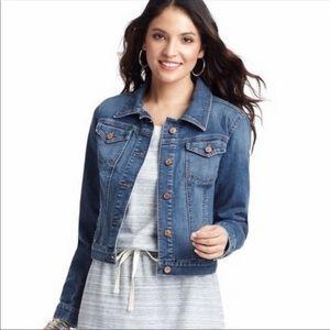LOFT denim jacket medium wash 6